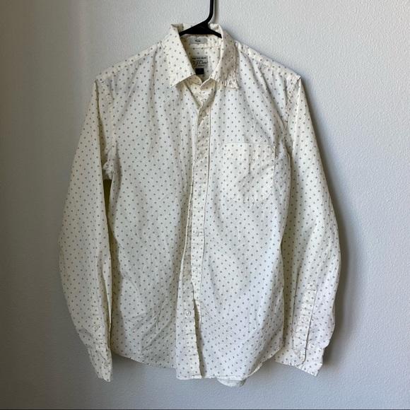 J. Crew Slim Button-Down Shirt - M